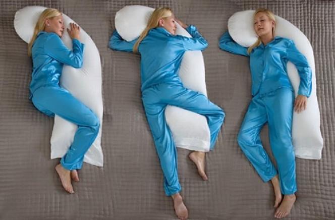 Как правильно спать беременной